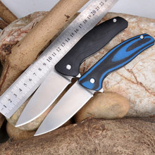 High Quality 9CR18MOV blade G10 handle 2 Colors folding knife outdoor camping survival tool hunting EDC tactical knives
