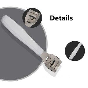 Image 5 - Removedor de cutículas profesional novedoso, acero inoxidable, eliminación de piel muerta, pedicura, máquina de afeitado de pies duros