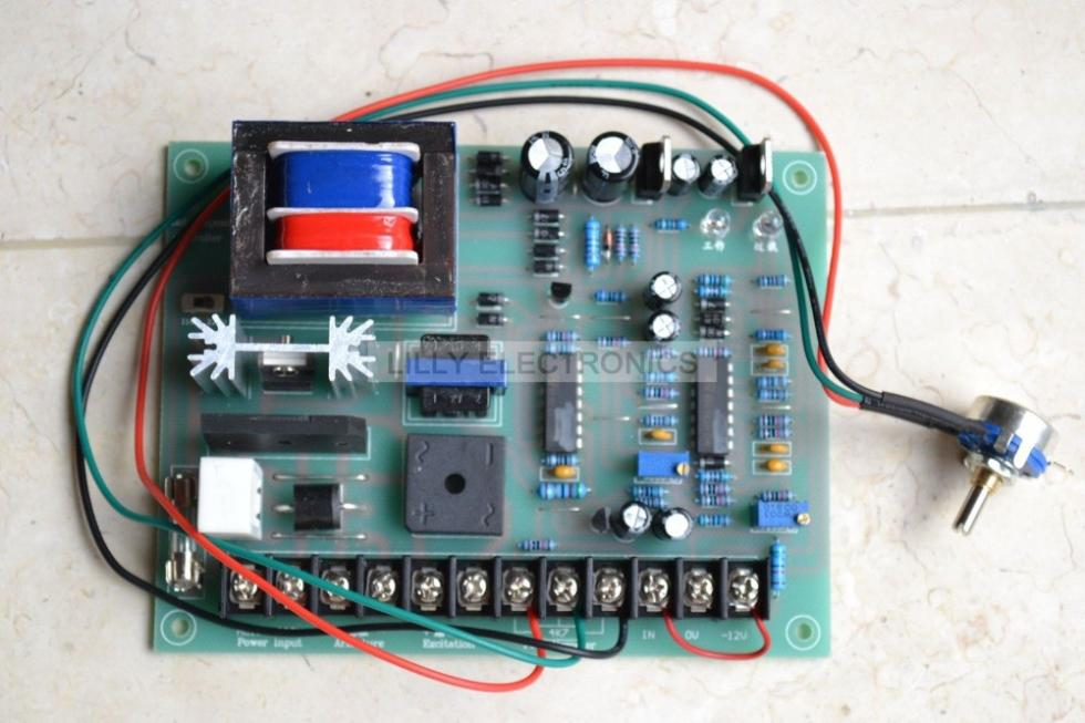 Dc Motor Controller Scr Diagram - Schematic Diagrams