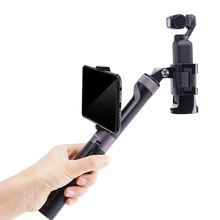 PGYTECH For Gopro Hero 9 DJI Osmo Pocket 2 Osmo Mobile 4 Osmo Action Camera Hand Grip Tripod Extension Pole for Gopro9 Xiaomi Yi