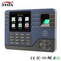 TCP IP Биометрические фингерпринта часы регистраторы сотрудник цифровые электронные английский считывающее устройство USB RFID ID карты