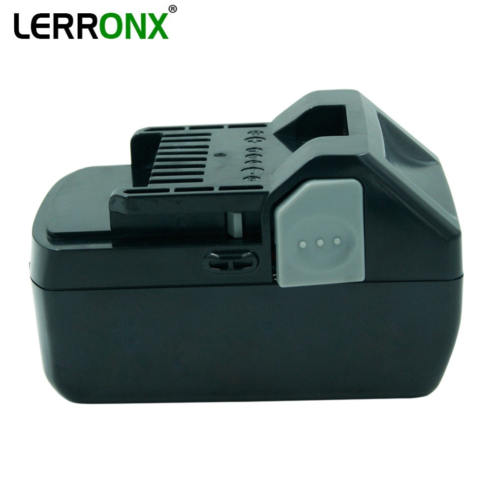 Batterie rechargeable de remplacement au Lithium haute capacité 4000 mAh 18 V pour outils électriques Hitachi BSL1830 BSL1840 DSL18DSAL BSL1815X