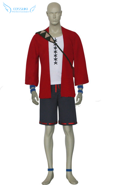 Newest High Quality Samurai Champloo Mugen Uniform Cosplay Costume ,Perfect Custom For You !