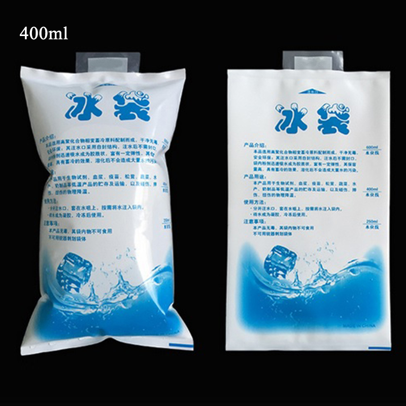 Summer Air Ice Bag Cooling Water Ice Pack Cool Milk Fresh Frozen Heat Preservation Bags