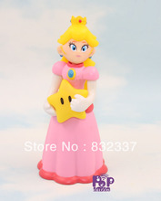 Pop Super Mario Bros PVC Princess Toadstool Peach Figure Peach Action Figure Best gifts For Kids