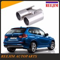 Welding Stainless steel dual Exhaust Muffler Tail Tip Pipe Car Exhaust Pipe Muffler Silencer for BMW X1 X3 X4 car-styling