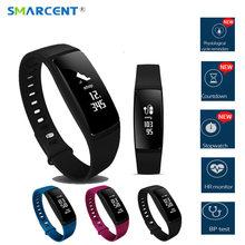 Smarcent V07S сердечного ритма Мониторы Smart Band 2 V07 Pro Приборы для измерения артериального давления спортивные Фитнес трекер SmartBand здоровья напоминание браслет