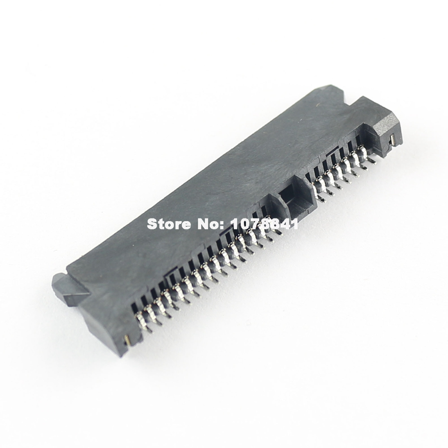 5Pcs Sata 7+15 Pin 22 Pin SMT SMD Type Female Socket Connector Adapter H=5mm