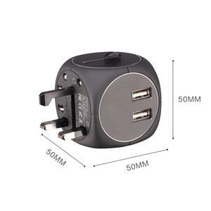 Image 4 - Common Universal EU UK AU to US USA AC Travel Power Plug Charger Adapter Conversion Adaptor for Home Use for Travel