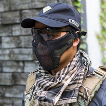Airsoft Tactical Foldable Half Face Mask