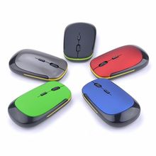 Mouse-Smooth Optical-Mouse Usb-Receiver Changeable 1600DPI Mini Ultra-Slim Wireless 4
