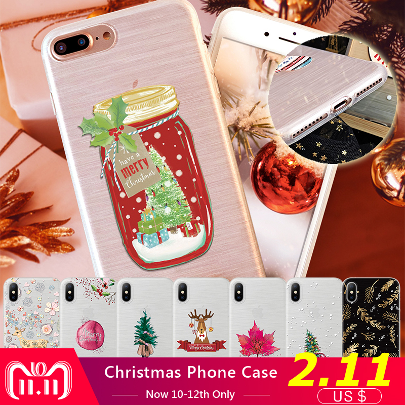 d474e060619 Lovely-Phone-Cover-For-iPhone-7Plus-Christmas-Snow-Leaves-Case-For-iPhone -X-8-7-6.jpg