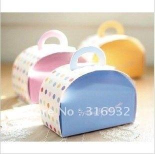 E1 Hot ! Especially for you Cake decorations,Cupcake boxes, BLUE COLOR