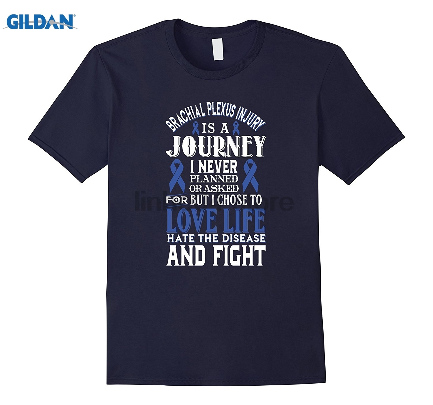 GILDAN Brachial Plexus Injury Awareness T-shirt dress T-shirt glasses Womens T-shirt