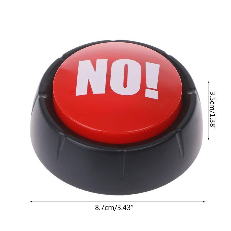 Funny Big Button Fart/sin botón de sonido bebé juguete ideal para padres compañeros de trabajo Gag broma escritorio sonido juguete Juguetes anales sexo tamaño pequeño de metal tapón Anal de acero inoxidable, Juguetes sexuales productos sexuales para adultos