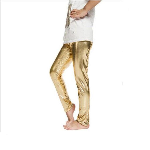 15713dfecbad73 Kid leggins gold silber kind leggings kid leder hosen mädchen legging baby  hosen kind leggings mädchen