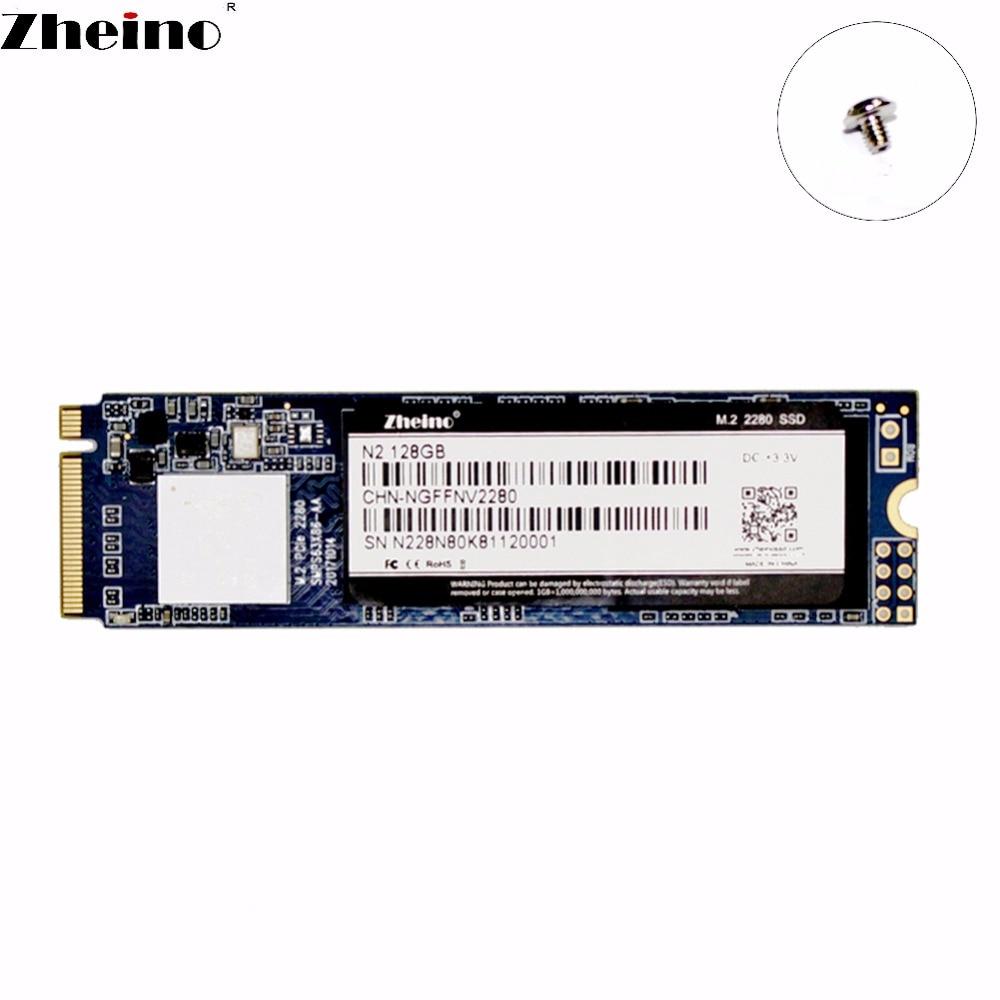 Zheino M.2 PCIE NGFF SSD 128 gb 256 gb 512 gb NVMe 2280mm Pour Ordinateur Portable De Bureau Interne Solid State disque dur
