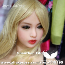 20 Top quality head for solid silicone font b sex b font font b doll