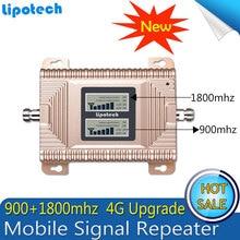 GSM 4G Repetidor de Banda 3 de Doble Banda Móvil Señal Booster 70dB GSM 900 1800 4G LTE de 1800 mhz Teléfono Celular Amplificador Repetidor Celular