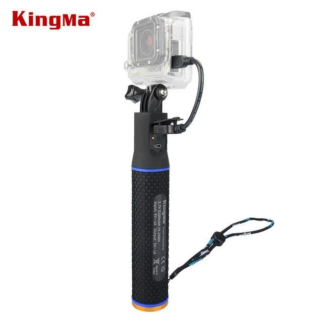 KingMa gopro session 4/3/3 + accessroy мобильный телефон портативный возьмитесь GoPro монопод мобильный телефон мощность рукоятки