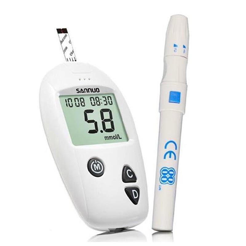 Glucometer Blood Sugar Tests Blood Glucose Meter Household Monitor Detection Glucometer Halth Care Tool L3