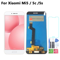 5.15'' LCD Original For Xiaomi Mi 5 5C 5S LCD Display Touch Screen Digitizer Panel Assembly Replacement For Xiaomi mi5 mi5c mi5s