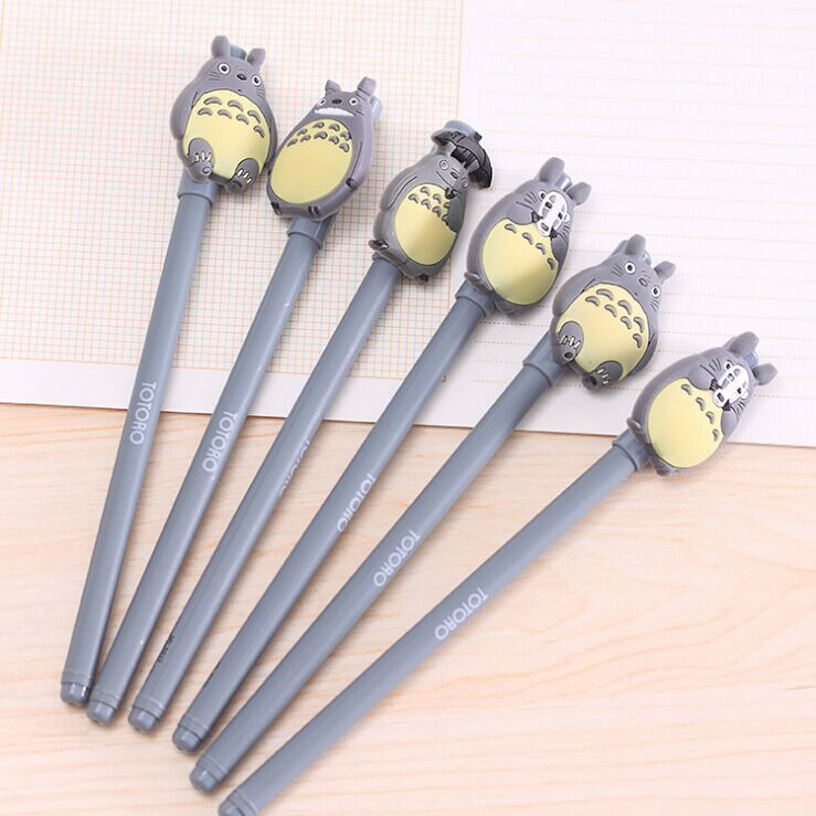48 PCS/lot of South Korea's creative stationery resin totoro neutral pen hayao miyazaki cartoon pen cute black pen is 0.5 mm free shipping one pair copper colour max series gold plated hi end us ac plug