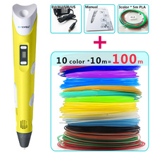 myriwell 3d ручка для рисования,LED дисплей,abs/pla нить,триде ручка 3d ручка для рисования 3д ручка 3d pen 3d pens 3 д ручка 3 д тридэ ручка 3d ручка самая дешовая 3d Ручка 3д ручка 3d для объёмного рисования подарок