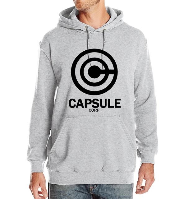 Capsule Corp Logo Hoodie (Gray)