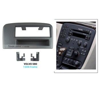 Seicane TOP EEN Din Autoradio Frame Panel Fascia voor Volvo S80 Stereo Dashboard CD Fitting Adapter