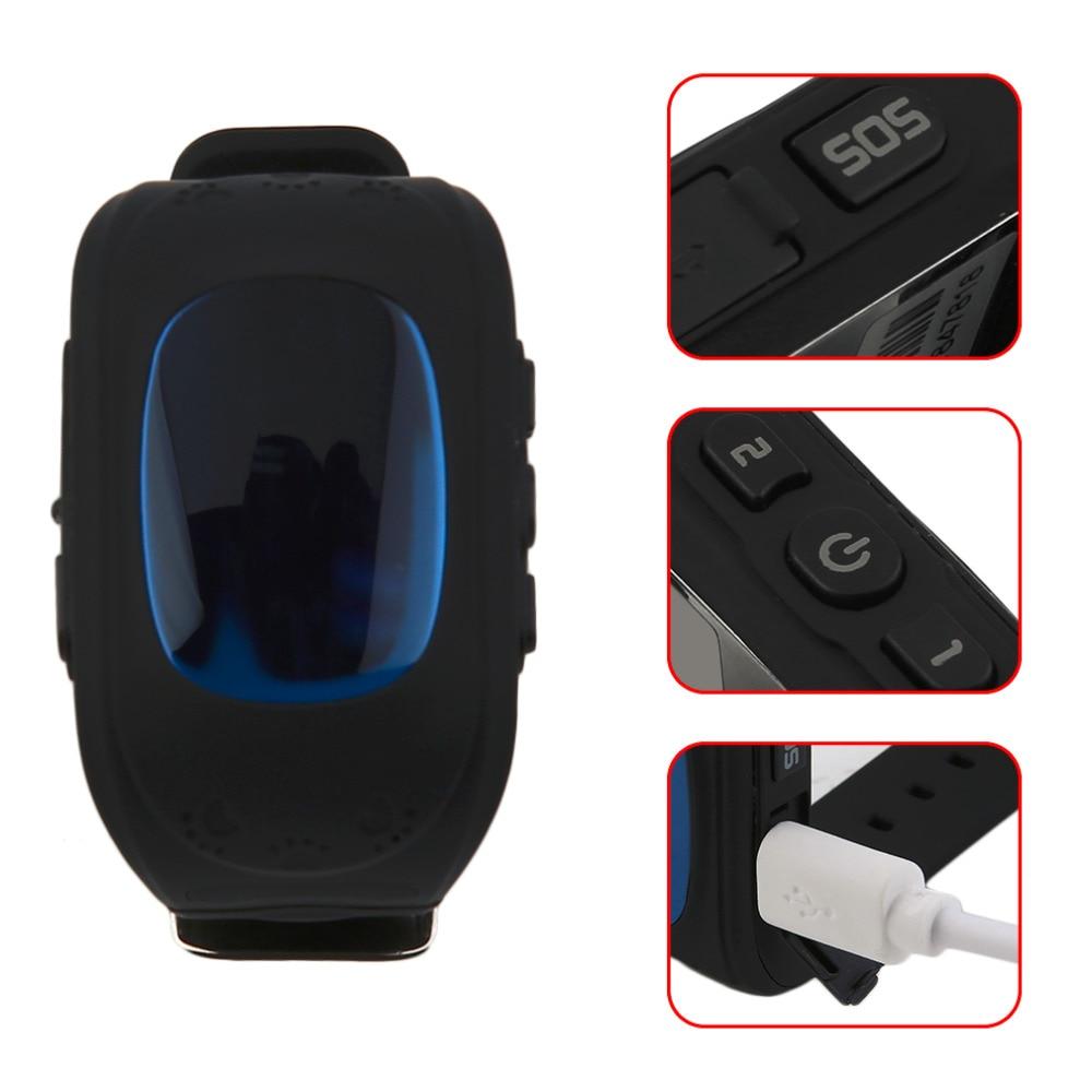 Q50 Смарт часы для детей ЖК-дисплей GSM локатор трекер анти-потерянный Phone Support дети часы для IOS android без GPS