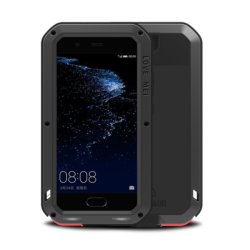 Metal Life Waterproof Case For Huawei P10 Shockproof Cover For Huawei P10 Plus Aluminum Protection P10plus Doom Gorilla Fundas