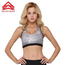 SYPREM New sports bra Yoga pilates Sports Bras vest underwear women running fitness shockproof padded push up sports bra,1FT1025