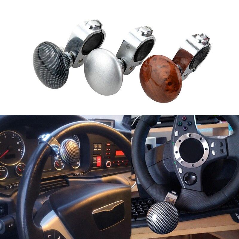 Volante de Estilo do carro Poder Lidar Com Aperto Knob Bola Mão Poder de Controle Pega Spinner Knob Turning Helper