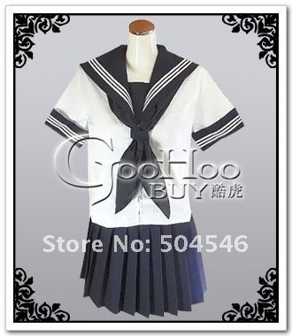 School Uniform--Girl summer costume