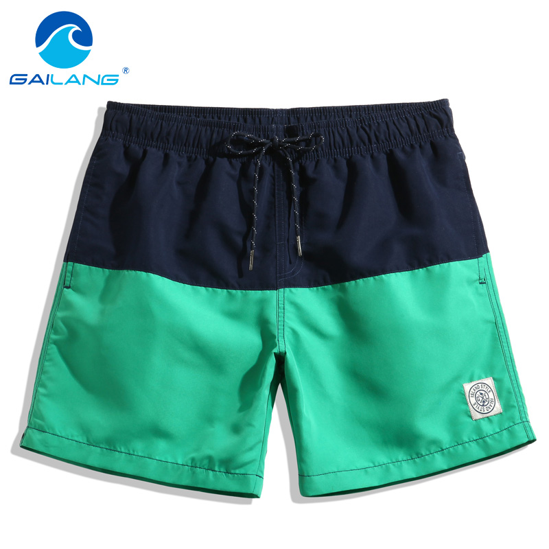 Gailang Brand Men Beach Shorts Board Boxer Trunks Swimwear Swimsuits Casual Leisure 2017 New Men's Short Bottoms Active Shorts