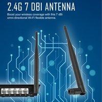 10pcs 2.4GHz 7dBi Wireless WIFI Antenna Booster WLAN RP SMA f PCI Card Modem Router