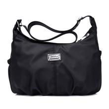2017 New Nylon Women Shoulder Bags Hobos Designer Handbags For Women Tote Crossbody Bags Female Messenger Bags Bolso