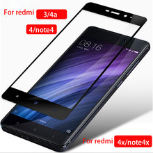 Protective Glass For Xiaomi Redmi Note 4x 4 x a 4a 3 Tempered Glas Screen Protector On Ksiomi Xiomi Xaomi Red Mi Not X4 A4 Film(China)