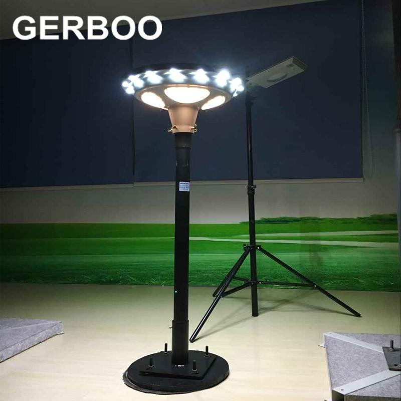 2017 UFO NEW Design 15W Garden Path Lights Olar Powered Street Light With 2  Years Warranty