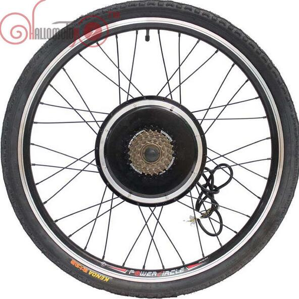 Electric Bicycle 36V/48V 1000W 20inch 700c Rear Wheel 135mm Driving Brushless Gearless Hub Motor Ebike Accessories With 7 Speed