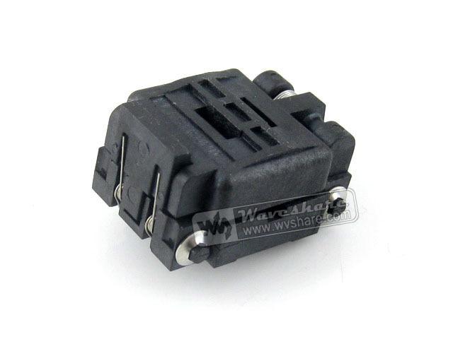 module 24QN50K14040 24QN50S14040 Plastronics IC Test Socket 0.5mm Pitch 24 Pins QFN24 MLP24 MLF24 package rm93c30fa 203 new tab cof ic module