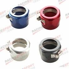 32AN 32AN AN32 с шестигранной отделочники зажимы для топливного шланга Алюминий красный/синий/черный/серебристый