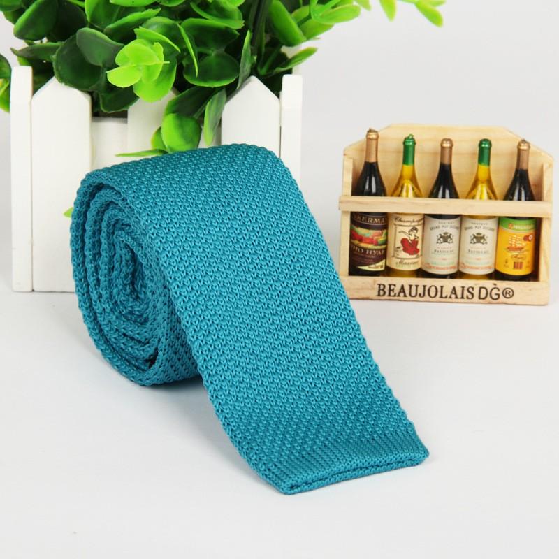 HTB1XJKCLpXXXXb9apXXq6xXFXXXT - Vintage Style Plain Color Knitted Ties