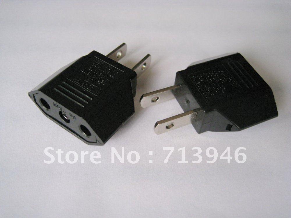 9618 1 American Plug Eu Socket Euro To Usa Pin Travel Adapter Converter An Philippines Thailand On Aliexpress Alibaba