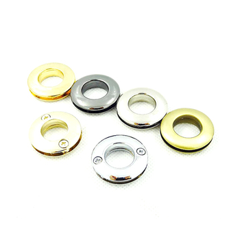 13mm Inner Golden Screw Eyelet Grommets, Purse Eyelet Grommets, Replacement Eyelet Grommets, Handbag Eyelet Grommets фото