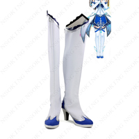 THE IDOLM@STER Cinderella girls Boots Cosplay Nitta Minami Anime Shoes