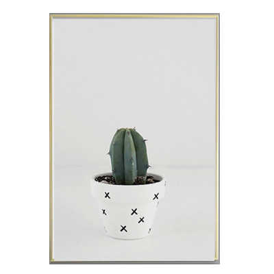 1efdda40b2 ... Cactus Shark Quotes Canvas Painting Minimal Nordic Poster Nursery Wall  Art Picture for Kids Living Room