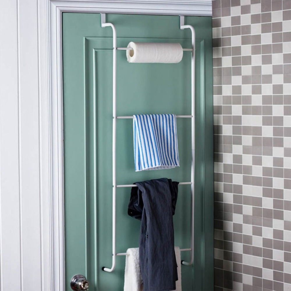 Multifunktionale Metall 4 Schicht Handtuchhalter Badezimmer