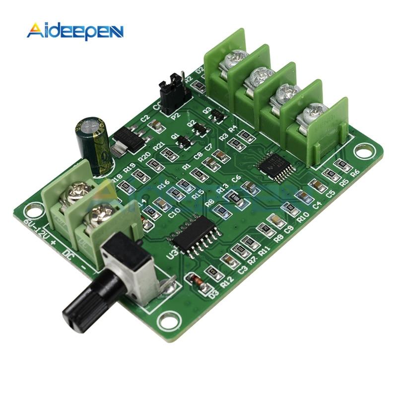 Плата управления бесщеточным драйвером постоянного тока 5 12 В, плата контроллера с защитой от перегрузки по току для двигателя жесткого диска, провод 3/4, 1 шт.|Контроллер двигателя|   | АлиЭкспресс